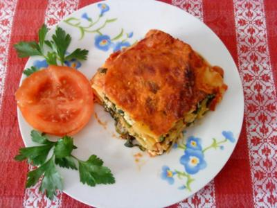 Zwergi's Spinat - Lasagne - Rezept
