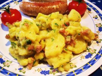 Kartoffelsalat als Hauptgericht ... - Rezept