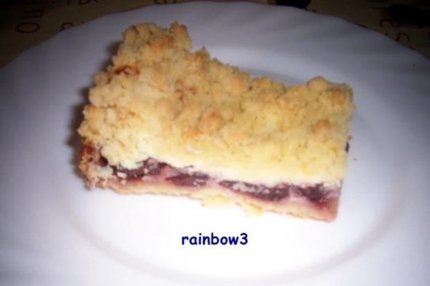 Backen: Mini-Kirsch-Quark-Kuchen mit Streusel - Rezept