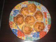 Herzhafte Zwiebel Bacon  Muffins - Rezept