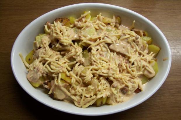 Mein (etwas anderer) Bratkartoffelauflauf - Rezept - Bild Nr. 2