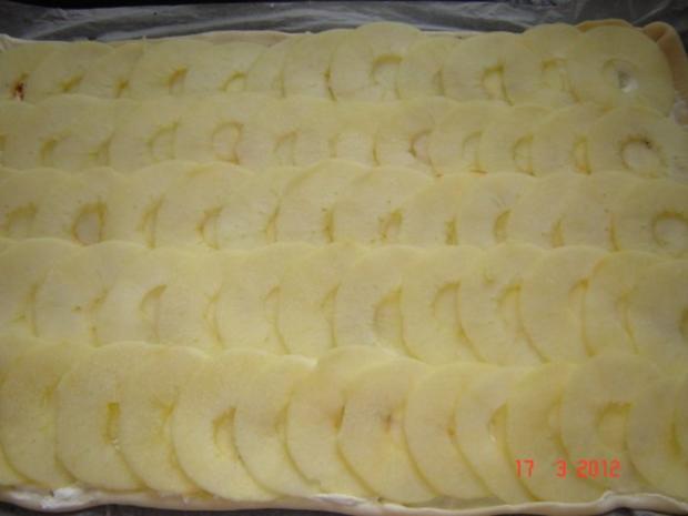 Kuchen & Torten : Apfel-Flammkuchen - Rezept - Bild Nr. 6