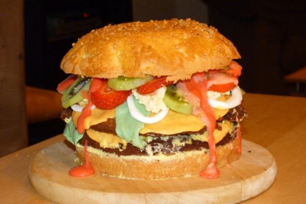 Hamburgertorte - Rezept