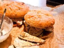 Mediterraner Focaccia Burger - Rezept
