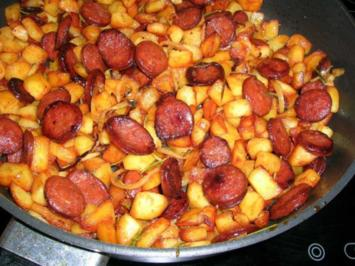 Kartoffel-Chorizo-Tortilla - Rezept