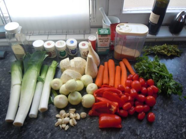 Vorrat: Speisewürze - Gemüsebrühe - Rezept - Bild Nr. 3