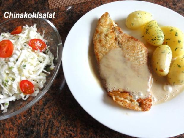 Fisch:   SCHOLLENFILET an Senfsauce - Rezept - Bild Nr. 2