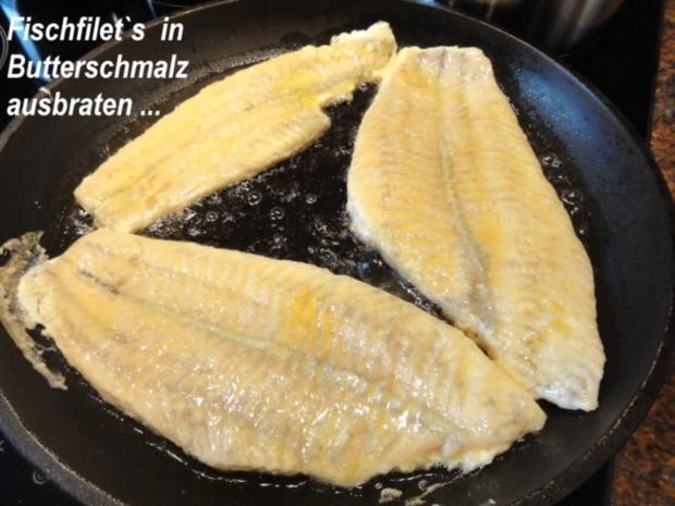 Fisch:   SCHOLLENFILET an Senfsauce - Rezept - Bild Nr. 7