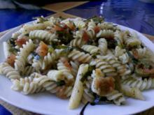 Nudeln: Tomaten-Nudeln-Jalapeno-Pfannne - Rezept