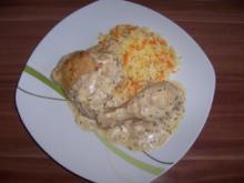 Hähnchenschenkel in Ingwer - Zitronen - Sauce - Rezept