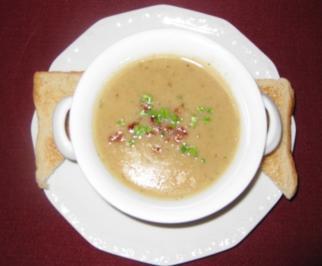 Champignon-Crèmesuppe - Rezept