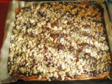Zwetschgenkuchen mit Zimtstreusel - Rezept