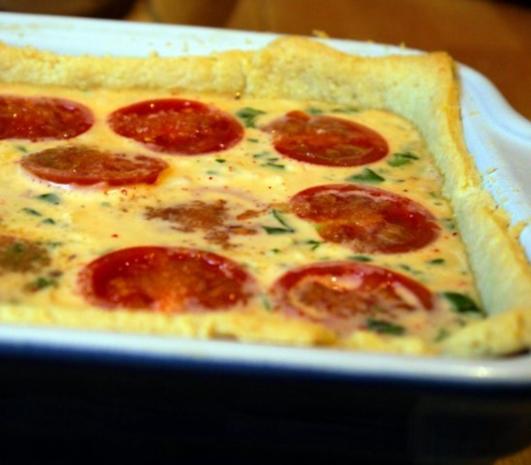 Tomaten-Basilikum-Quiche - Rezept - Bild Nr. 9