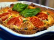Tomaten-Basilikum-Quiche - Rezept