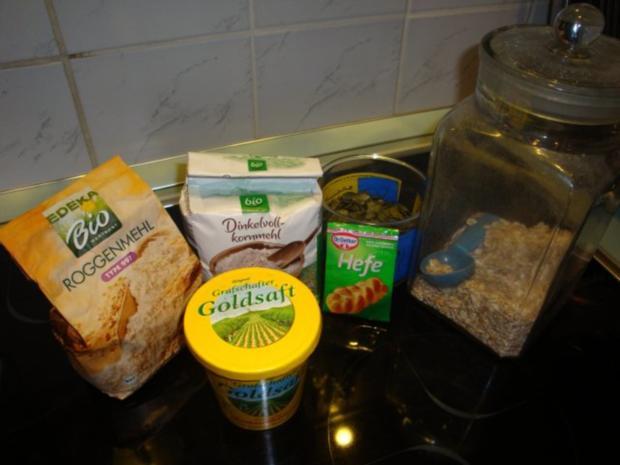 Dinkel-Haferflocken- Möhren Brot - Rezept - Bild Nr. 2