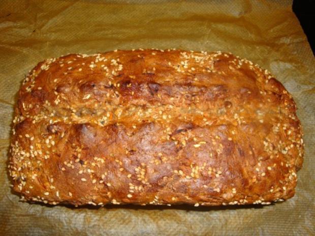 Dinkel-Haferflocken- Möhren Brot - Rezept - Bild Nr. 9