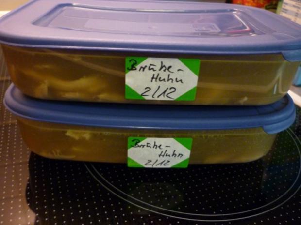 Hühnerbrühe kräftig, frisch zubereitet - Rezept - Bild Nr. 3