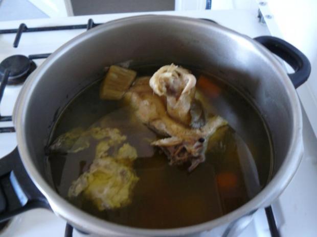 Frühlinssuppe mit Nudeln und Gemüse - Rezept - Bild Nr. 4