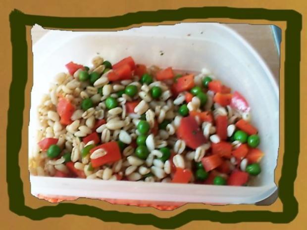 Gesunder Bunter Salat mit Ebly - Rezept - Bild Nr. 2