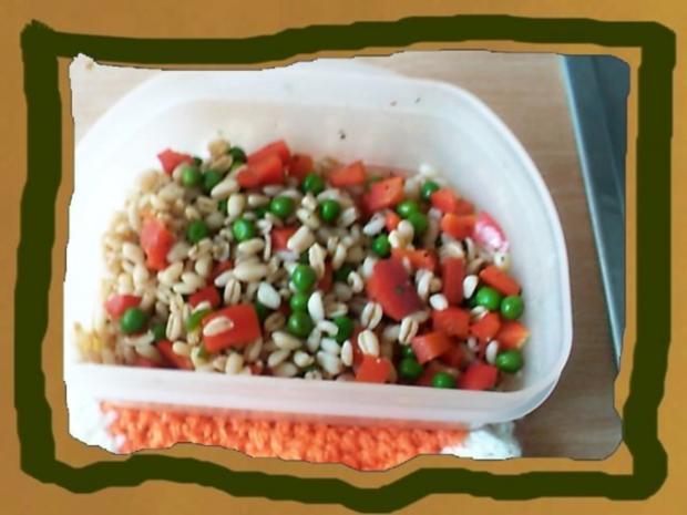 Gesunder Bunter Salat mit Ebly - Rezept - Bild Nr. 3