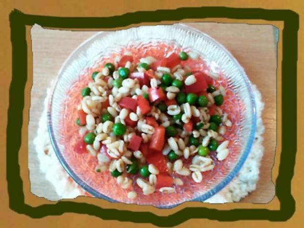 Gesunder Bunter Salat mit Ebly - Rezept - Bild Nr. 4