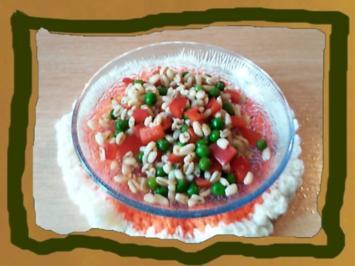 Gesunder Bunter Salat mit Ebly - Rezept