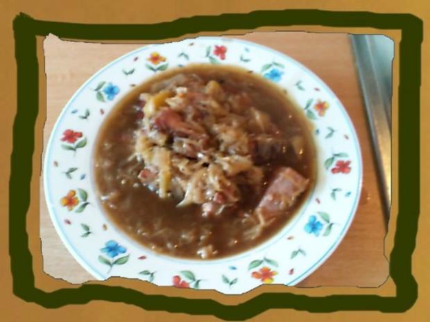 Kasseler Sauerkraut Eimtopf - Rezept