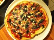 Pizza Spinaci - Rezept