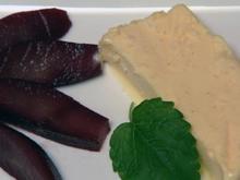 Eierlikör-Semifreddo mit Rotweinbirnen (Radost Bokel) - Rezept