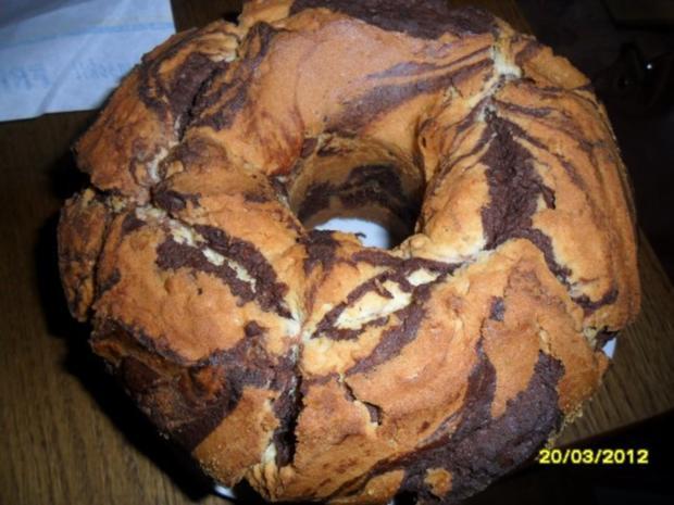 Omas Marmorkuchen - Rezept