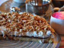 Pflaumenmuss-Mandelkrokant-Torte - Rezept - Bild Nr. 2
