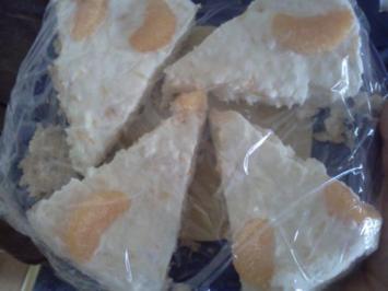 Frischkäse-Pfirsich-Torte - Rezept