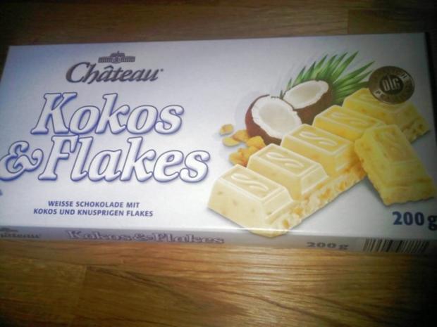 Weiße Schokocrossies mit Krokant & Kokos - Rezept - Bild Nr. 2