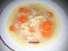 Kochen: 3-in-1 ... Hühnersuppe - Rezept