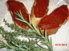 Brotaufschtrich aus Spanien - Rezept