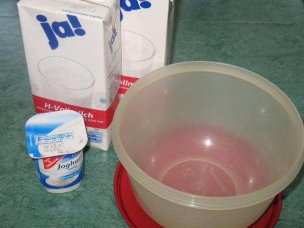Basics - Naturjoghurt - selbst hergestellt - Rezept - Bild Nr. 3
