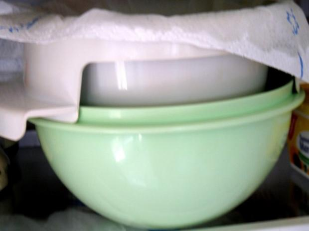 Basics - Frischkäseart aus Naturjoghurt - selbst hergestellt - Rezept - Bild Nr. 9
