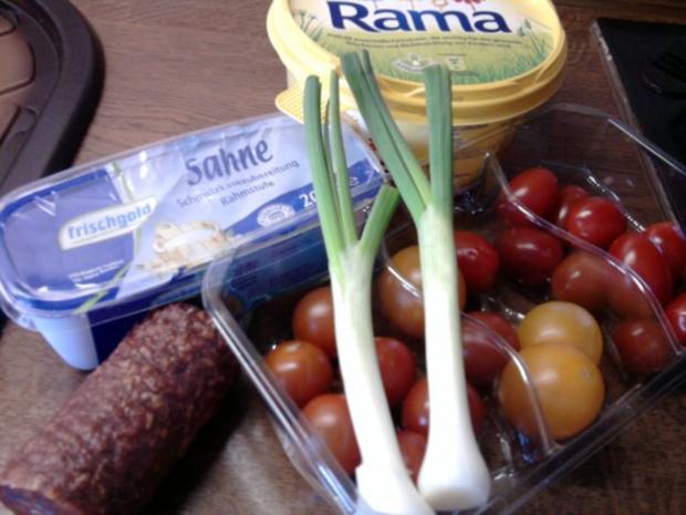 Tomaten-Käse-Sosse - Rezept - Bild Nr. 2