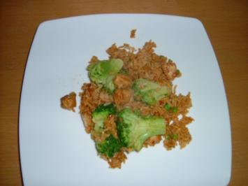 Hähnchen Reis Pfanne - Rezept
