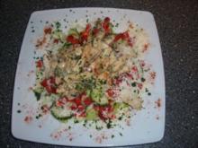 Frühlingssalat mit Hähnchenbrust- Geschnetzeltes - Rezept