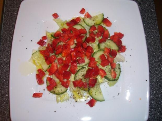 Frühlingssalat mit Hähnchenbrust- Geschnetzeltes - Rezept - Bild Nr. 6