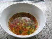Paprika-Zucchini-Suppe - Rezept