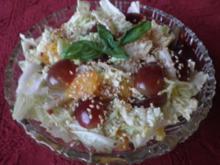 Fruchtiger Chinakohlsalat - Rezept