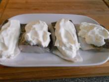 Skrei auf der Sahnehaube, Brokkoli, tournierten Kartoffeln und  Sauce Hollandaise - Rezept