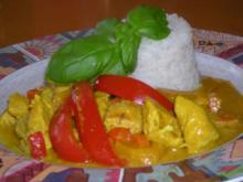 Curry mit Allerlei aus  Queeny ` s  Versuchsküche .... - Rezept
