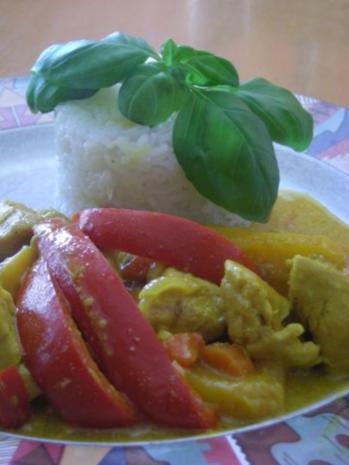 Curry mit Allerlei aus  Queeny ` s  Versuchsküche .... - Rezept - Bild Nr. 3