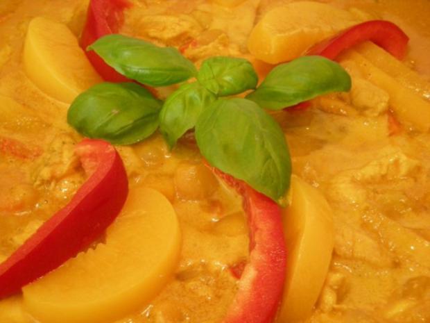 Curry mit Allerlei aus  Queeny ` s  Versuchsküche .... - Rezept - Bild Nr. 4