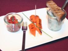 Hessische Tapas: Kräutersüppchen, Schmandmöhre  und Ahle Worscht-Salat - Rezept