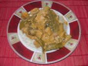 Kokos-Schweine-Curry - Rezept