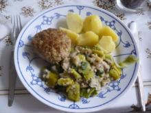 Bratklößchen mit Poreegemüse (Fleischplanzerl) - Rezept